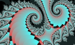 Fractal XaoS - Спирали