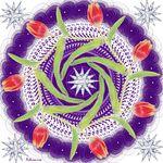Mandala Восьмое Марта