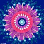 Мандала Цветок любви