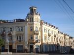 Дом с часами на Болшой Советской