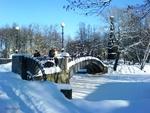 Зима в Лопатинском саду