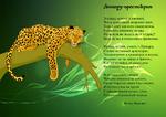 Открытка Леопард-аристократ