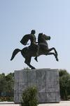 Греция: Салоники - Памятник Александру Великому