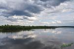 Река, тучки, облака...