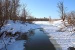 Протока в марте...