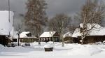 Зима в деревне...