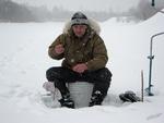 Рыбалка в середине марта...