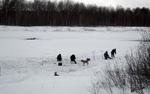 Рыбалка... Ещё на льду...