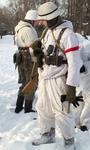 Немецкий солдат. Зимняя экипировка.