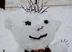 Портрет снеговика