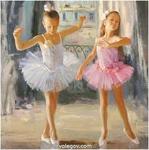 Балерины-двойняшки