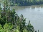 Вид с яра на реку Оку.Иркутская область.